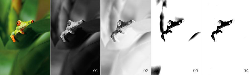 Arbeitsschritte zur Erstellung eines 3D-Lack-Effekts