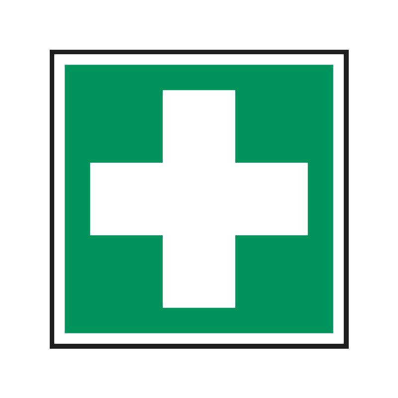 Rettungszeichen: Erste Hilfe