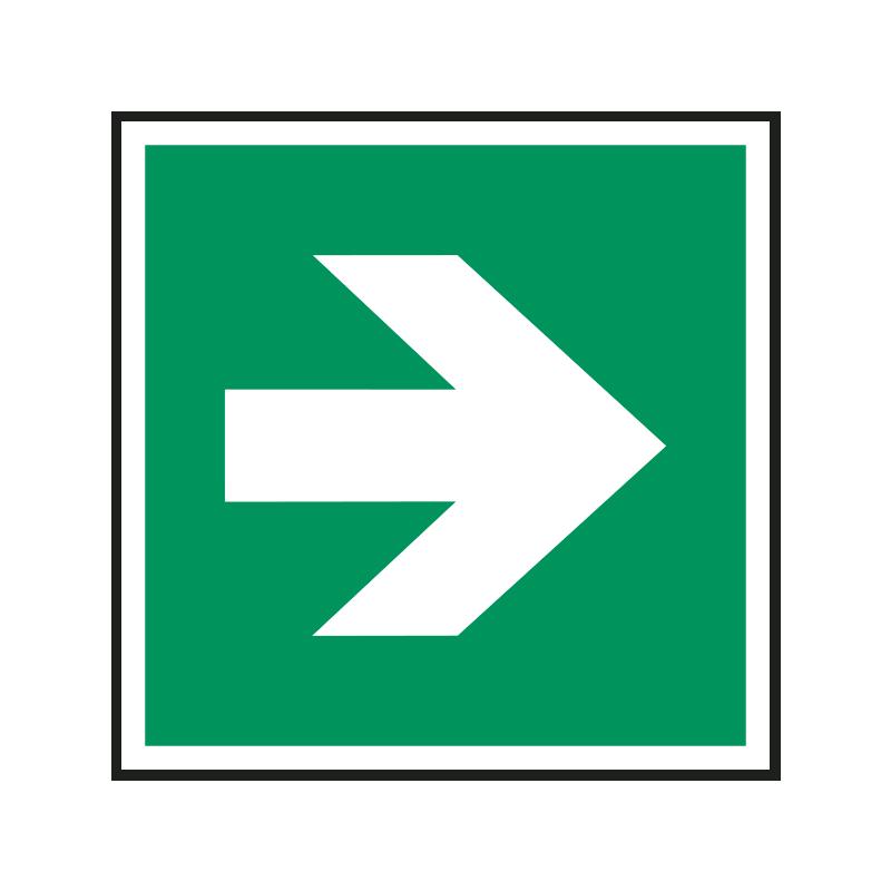 Zusatzzeichen: Richtungsangabe